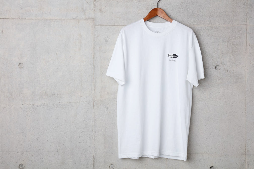 LIVING MY TOWN TEE- LIMITED ITEM -(WHITE) -BAL