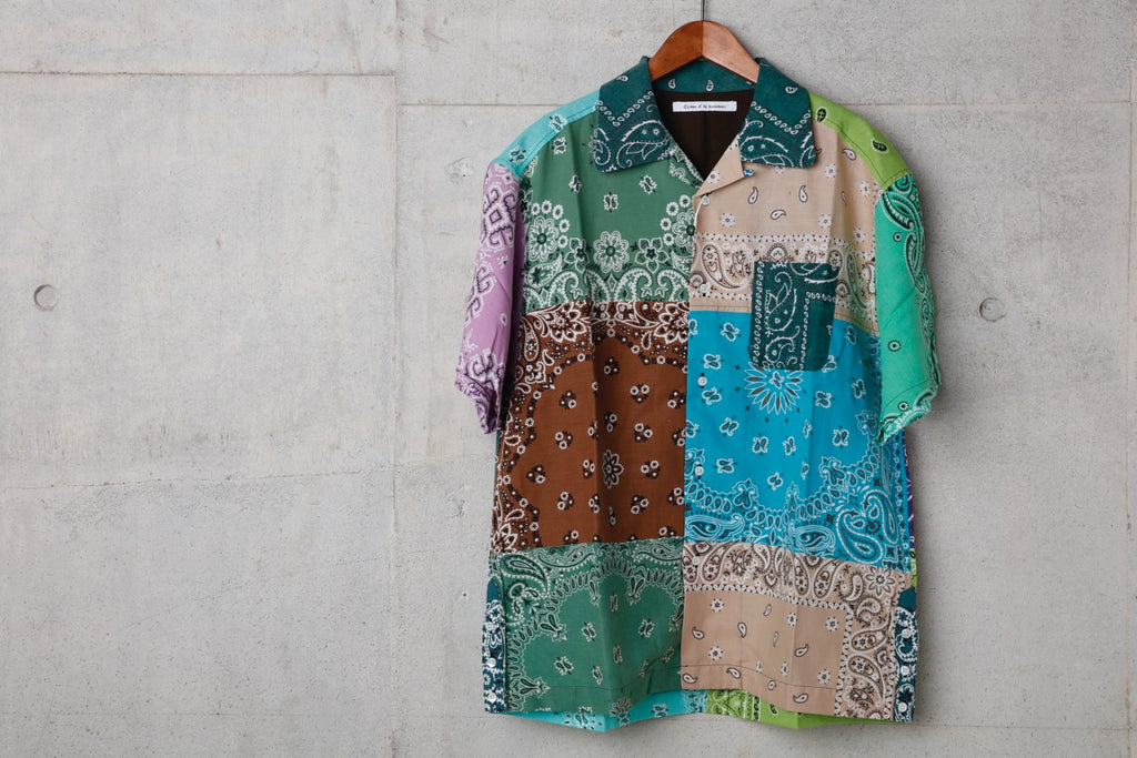 VINTAGE BANDANA PATCHWORK SHIRT SS(MIX) -Children Of The Discordance