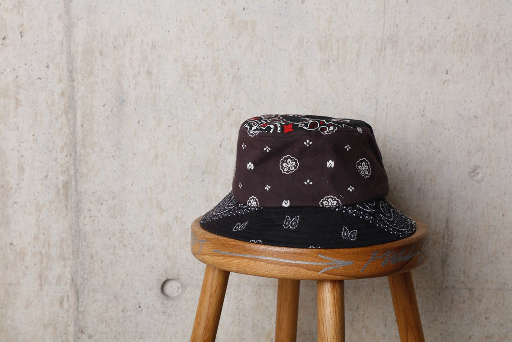 BANDANA BUCKET HAT(BLACK) -Children Of The Discordance