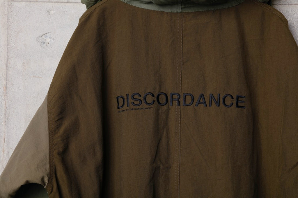 M-65 HAND PATCHWORK M-51 COAT(KHAKI) -Children Of The Discordance