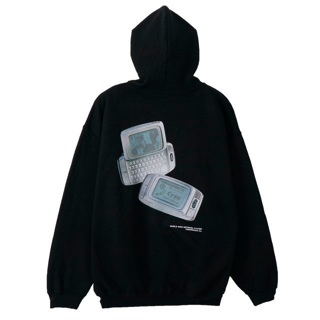 Side Kick Hoodie(BLACK) -THROWBACK