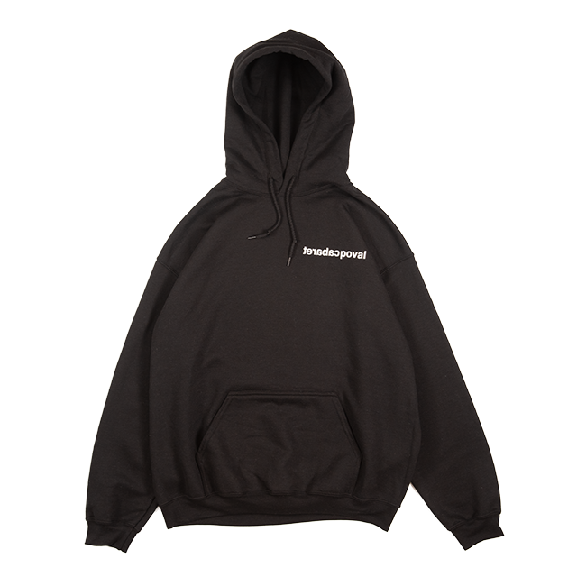 MIST HOODED SWEATSHIRT (BLACK) -POVAL