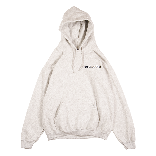 MIST HOODED SWEATSHIRT (ASH) -POVAL