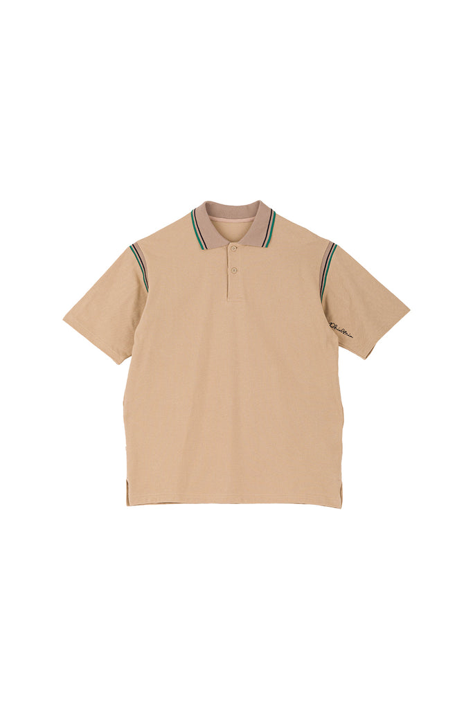 LINES POLO(BEIGE) -PHINGERIN