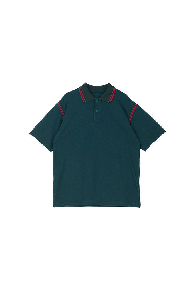 LINES POLO(GREEN) -PHINGERIN
