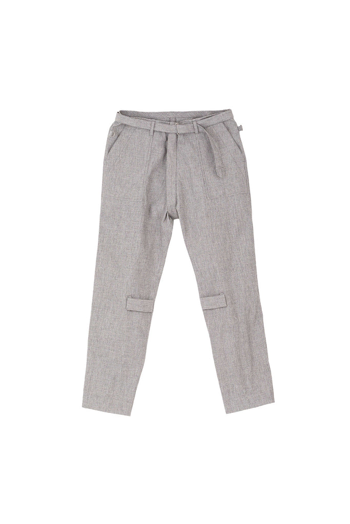 BONTAGE PANTS SMOKY(GREY) -PHINGERIN