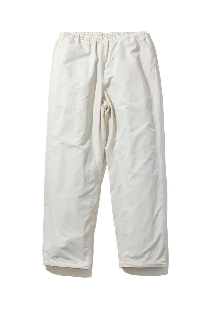 NYLON CHAMBRAY PANTS(BEIGE) -RAJABROOKE