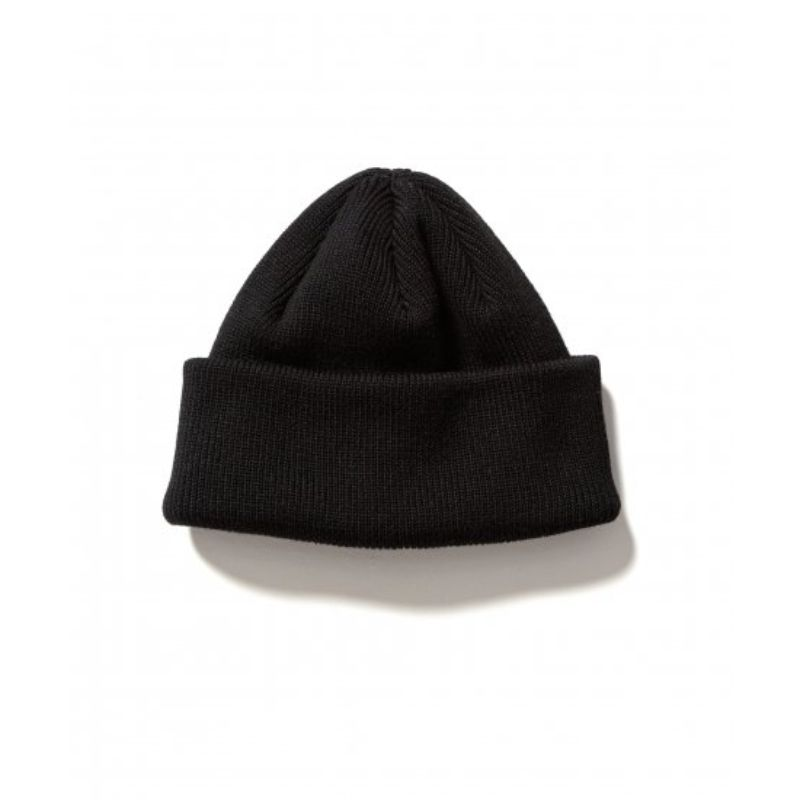 2WAY WATCH CAP (BLACK) -FLAGSTUFF