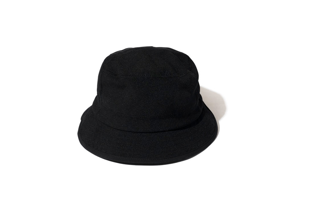 NYLON CHAMBRAY HAT(BLACK) -RAJABROOKE