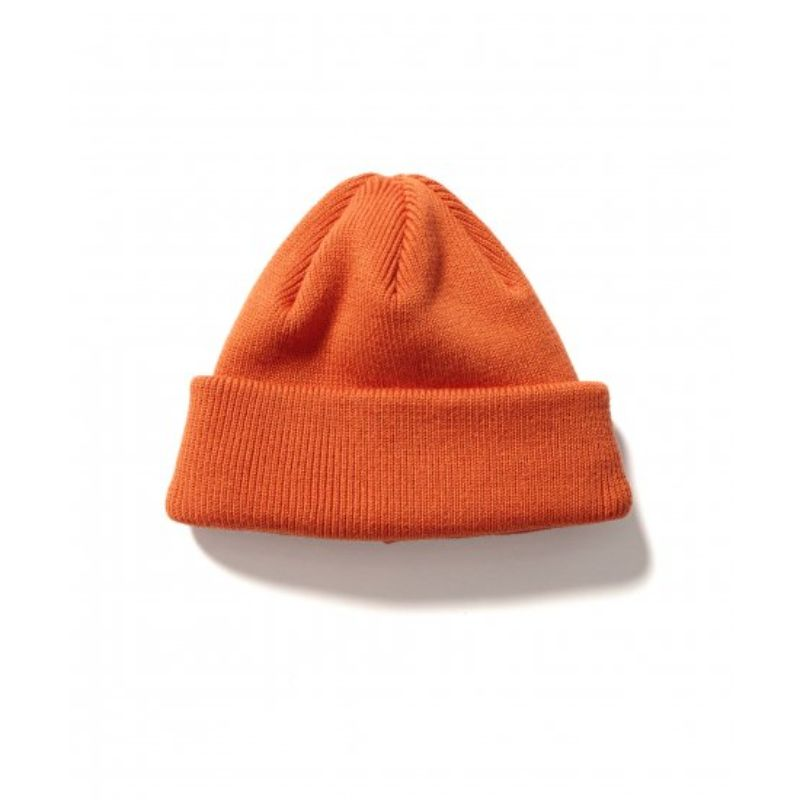 2WAY WATCH CAP (ORANGE) -FLAGSTUFF