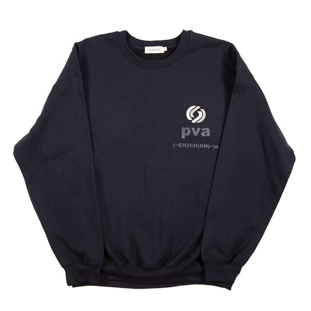 RATIONAL CREWNECK SWEATSHIRT (NAVY) -POVAL