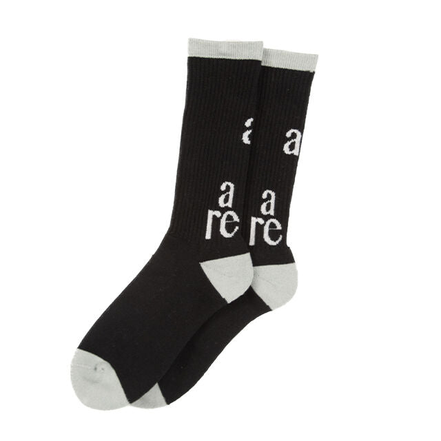 Basic Socks(BLACK) -POVAL