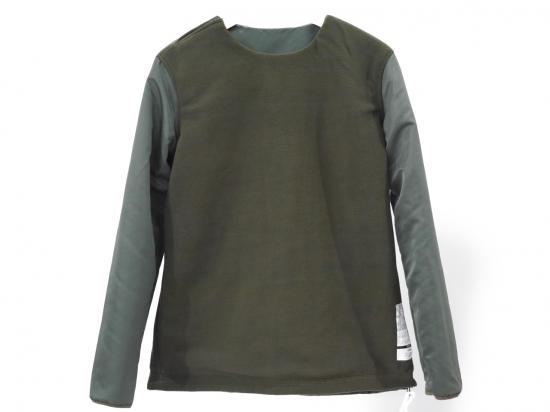 FLEECE REVERSE SWEAT(KHAKI) -ETHOS- 14AW