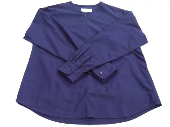 CLERIC-SHIRTS(NAVY) -VAINL ARCHIVE- 14AW
