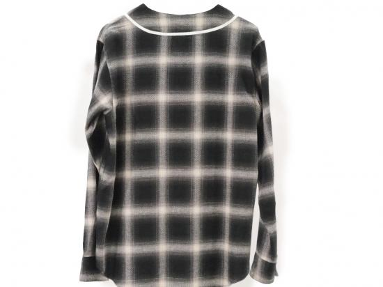 LONG SLEEVE BB SHIRT(BLACK) -FORTY FOUR- 14AW