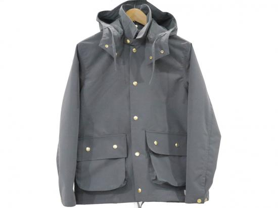 3-layer coach jacket(GRAY) -GOFUKUSAY- 14AW