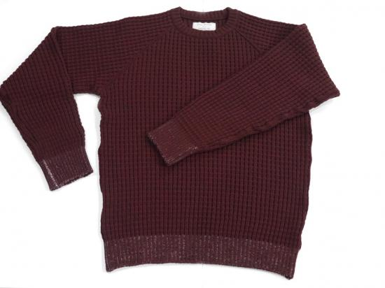 MIL-WAFFLE(WINE) -VAINL ARCHIVE- 14AW