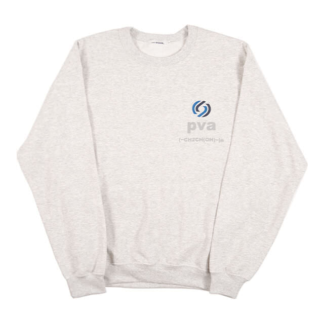 RATIONAL CREWNECK SWEATSHIRT (ASH) -POVAL