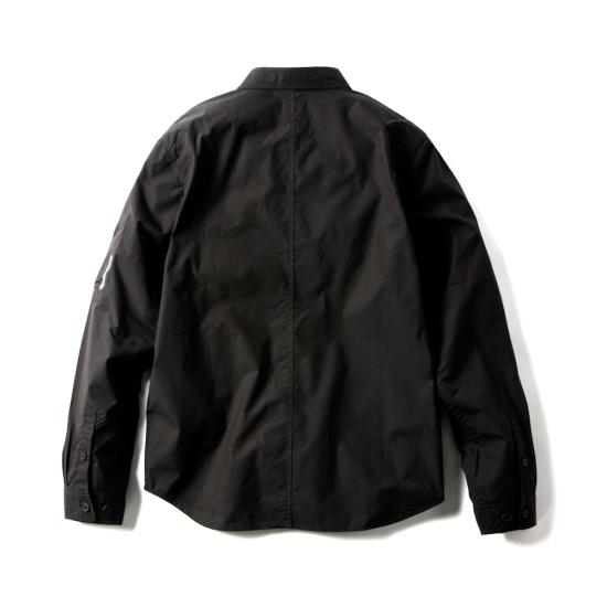 LUX MIL SHIRT(BLACK) -MAGIC STICK- 15SS