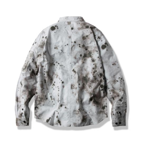 LUX MIL SHIRT(SPLATTER PATTERN) -MAGIC STICK- 15SS