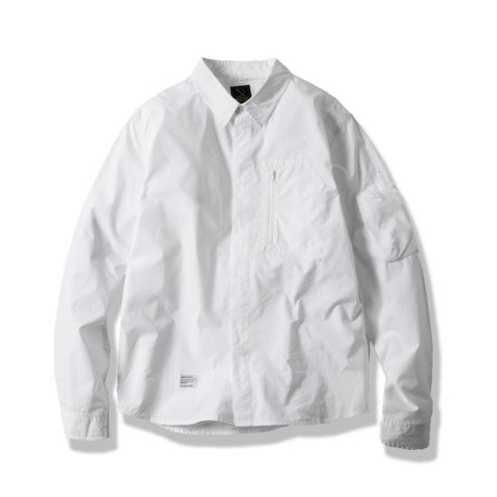LUX MIL SHIRT(WHITE) -MAGIC STICK- 15SS