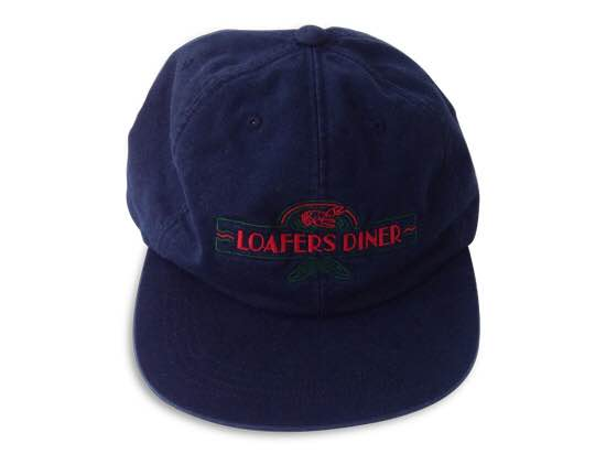 LOAFERS DINER 6PANEL(WASHED NAVY) -GOOFY CREATION- 15SS