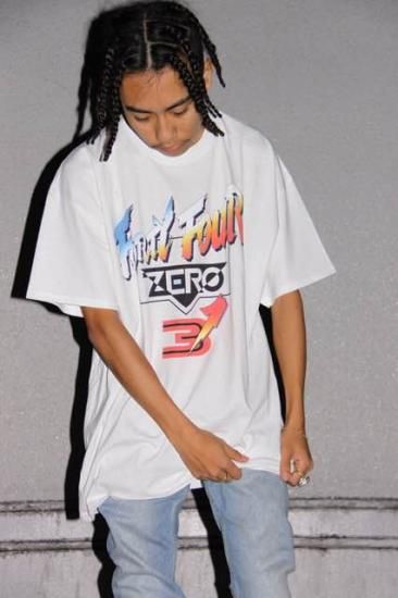 FF03 TEE(BLACK) -FORTYFOUR- 15SS
