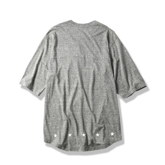 OVER SIZE HALF SLEEVE T(GRAY) -MAGIC STICK- 15SS