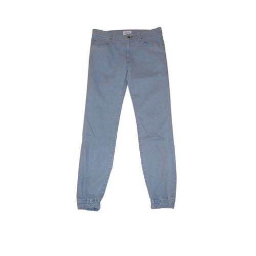 DENIM JOGGER PANTS(LIGHT INDIGO) -FORTYFOUR- 15SS