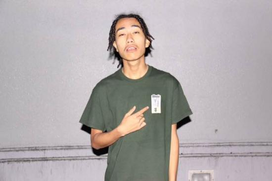 BATTERY TEE(GREEN) -FORTYFOUR- 15SS