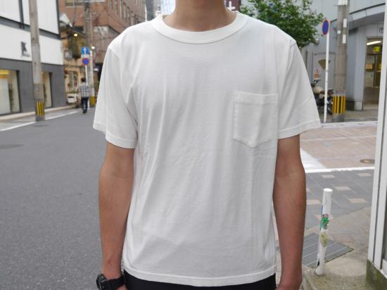GIZA-TEE(WHITE) 【クルーネックカットソー】 -VAINL ARCHIVE- 15SS