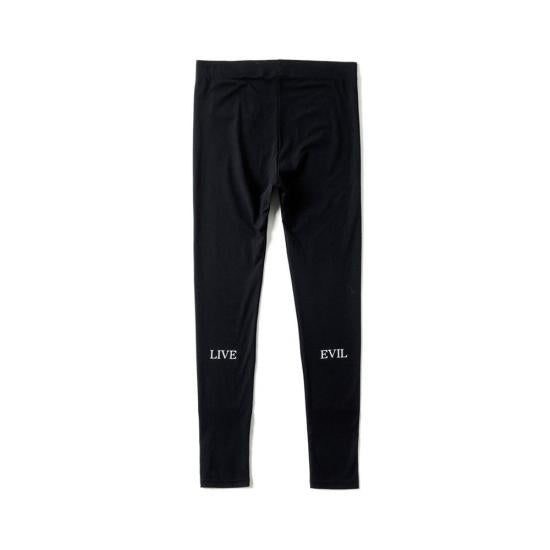 LIVE EVIL LEGGINGS(BLACK) -MAGIC STICK- 15FW