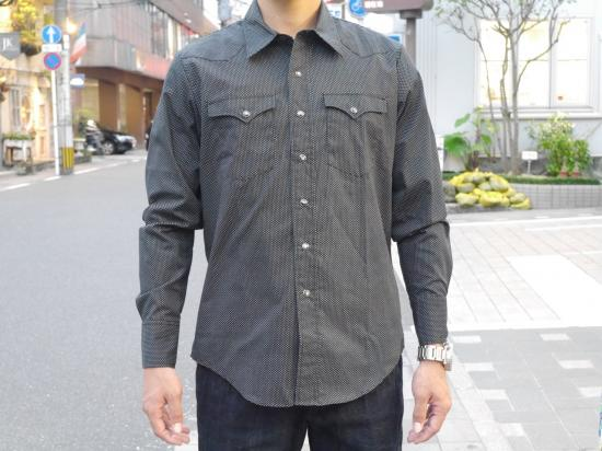"""WESTERN . SHIRTS"" BIG or SMALL(SMALL DOT)【ウエスタンシャツ】 -TR.4 SUSPENSION-"