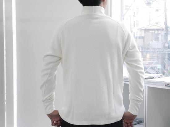 MIL-THERMAL-T(WHITE)【サーマルタートルネックカットソー】 -VAINL ARCHIVE- 15FW