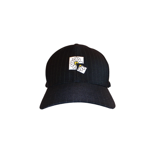 PEACE FLOWER CAP(BLACK) -FORTYFOUR- 15FW