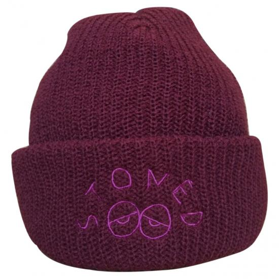 STONED WatchCap(BURGUNDY) -I&ME- 15FW