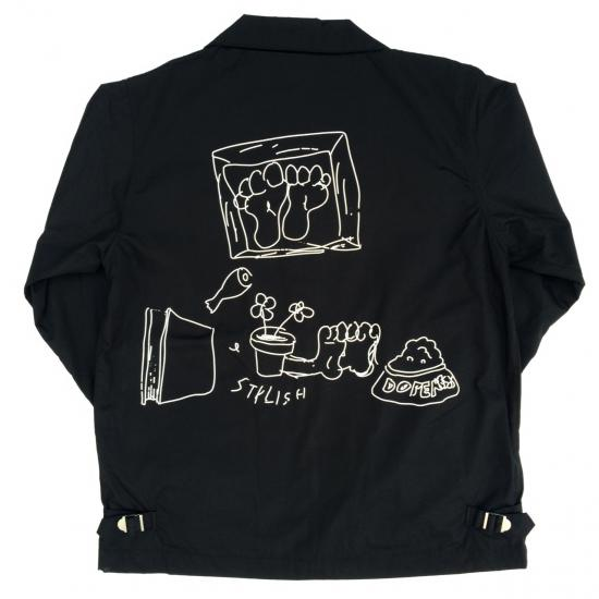 Drawing SwingTop(BLACK) -I&ME- 15FW