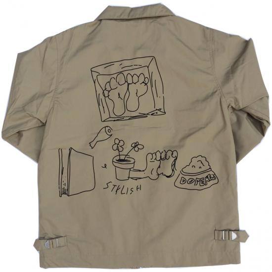 Drawing SwingTop(BEIGE) -I&ME- 15FW