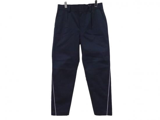 PIPING CHINO PANTS(NAVY) -FORTYFOUR- 15FW