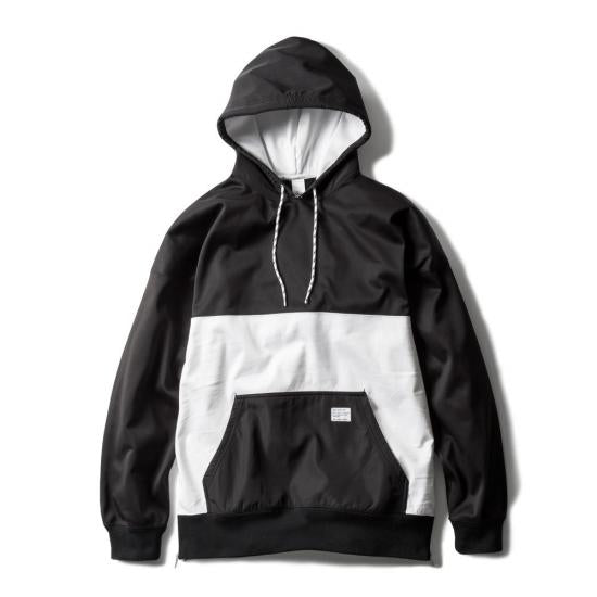 CHAMPS HOODIE ver.2(BLACK×WHITE) -MAGIC STICK- 15FW