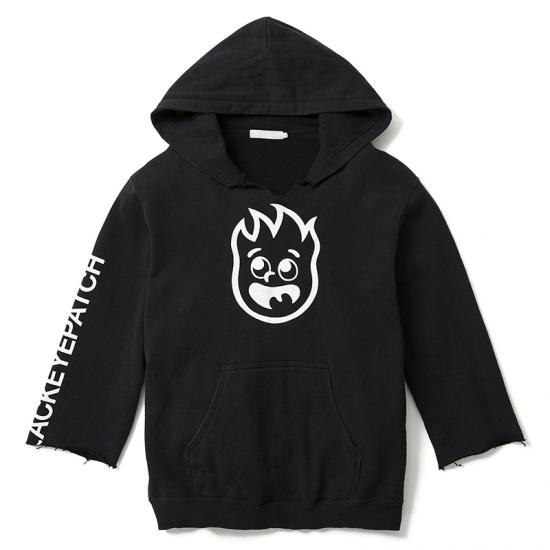 FIRE FRAME DAMAGED PULLOVER(BLACK) -BLACK EYE PATCH- 15FW