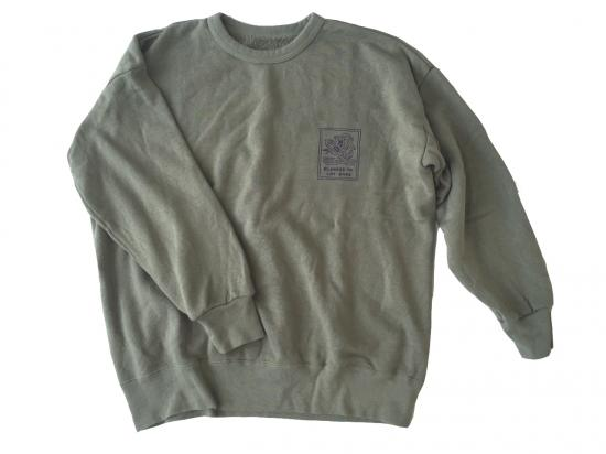 "Pile Loop ""Lay Back"" Crew Sweat(OLIVE) -GOOFY CREATION-"
