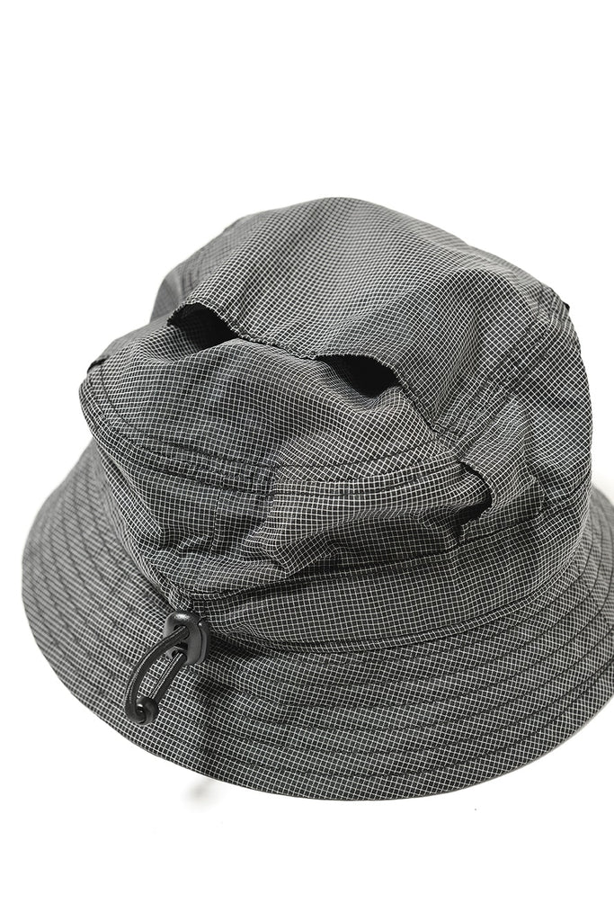 VENTILATION BUCKET HAT(BLACK/WHITE) -BAL