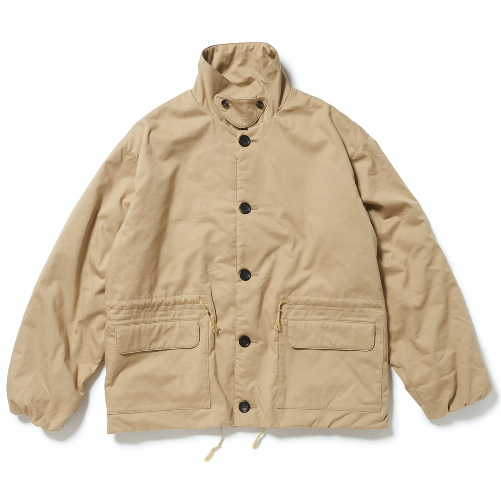 THERMO COACH JACKET(CHINO BEIGE) -ETHOS