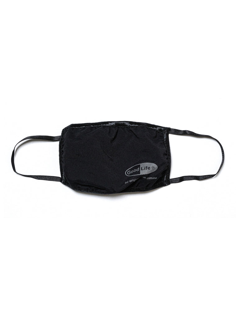 GOOD LIFE FACE MASK(BLACK) -BAL