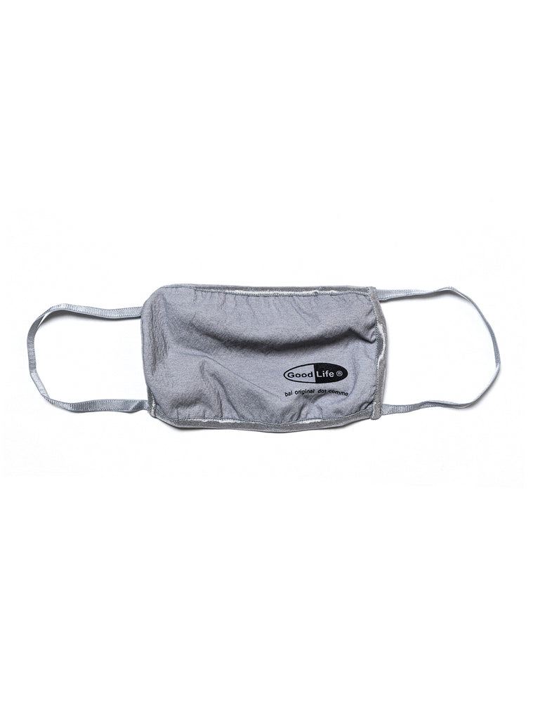 GOOD LIFE FACE MASK(GRAY) -BAL