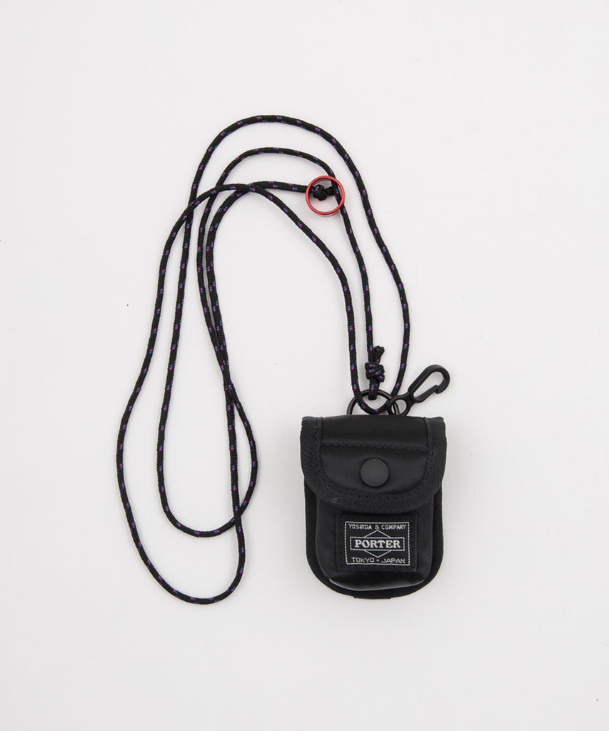 BAL/PORTER® EARPHONE NECK POUCH(BLACK) -BAL