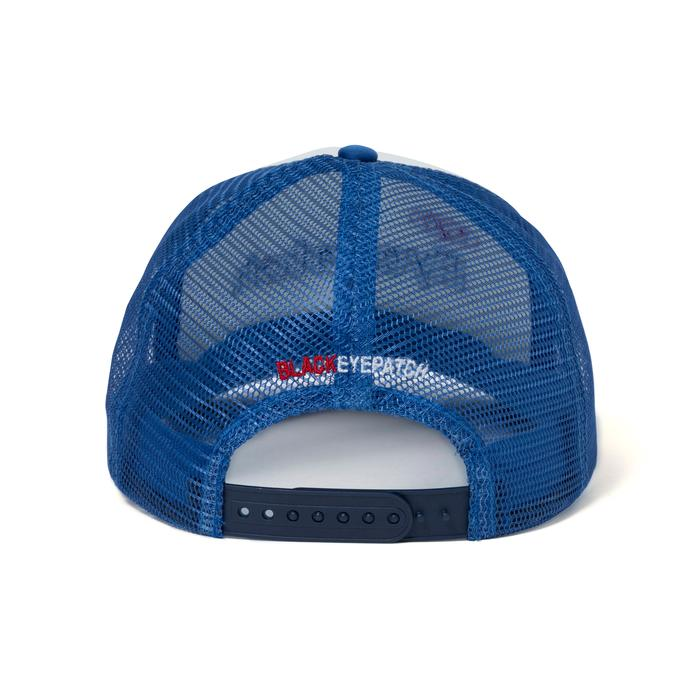 HOUSEWRAP MESH CAP(BLUE) -BLACK EYE PATCH