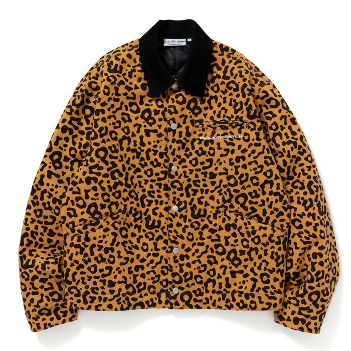 LEOPARD DUCK JACKET(BROWN) -BLACK EYE PATCH