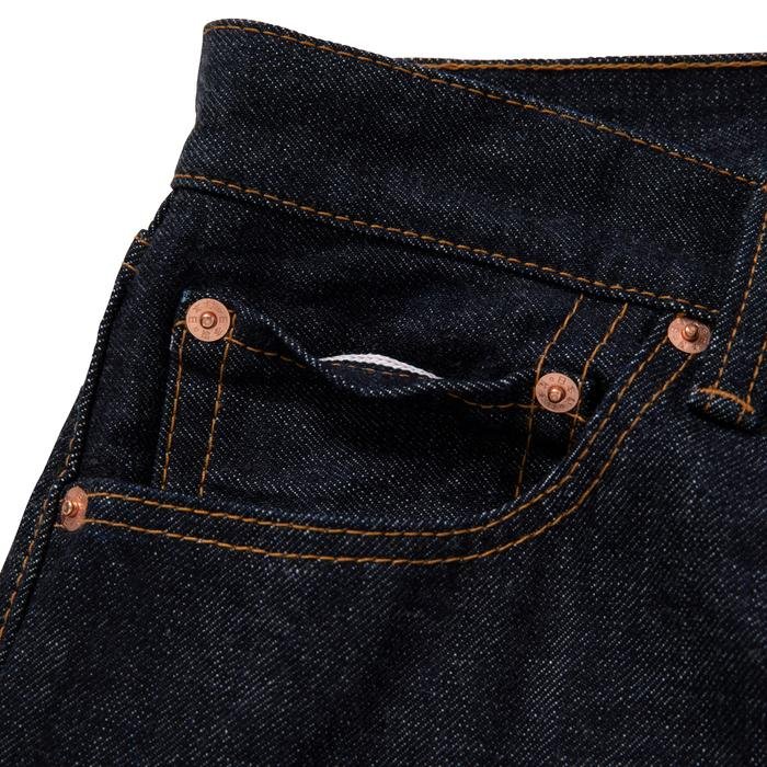 KAMON JEANS(INDIGO) -BLACK EYE PATCH